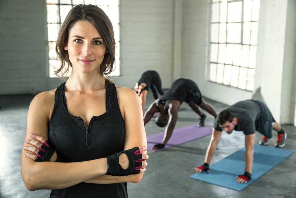 Bodygym Plattling Frau motiviert